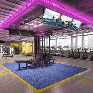 健身房设计 | 如何将健身房设计做出高大上的感觉