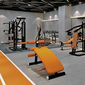 健身房装修找禾创装饰,品质可信赖!