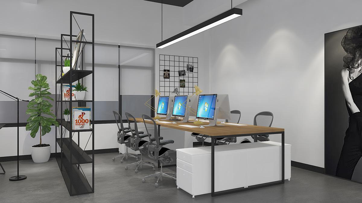 陌也展厅和办公空间装修