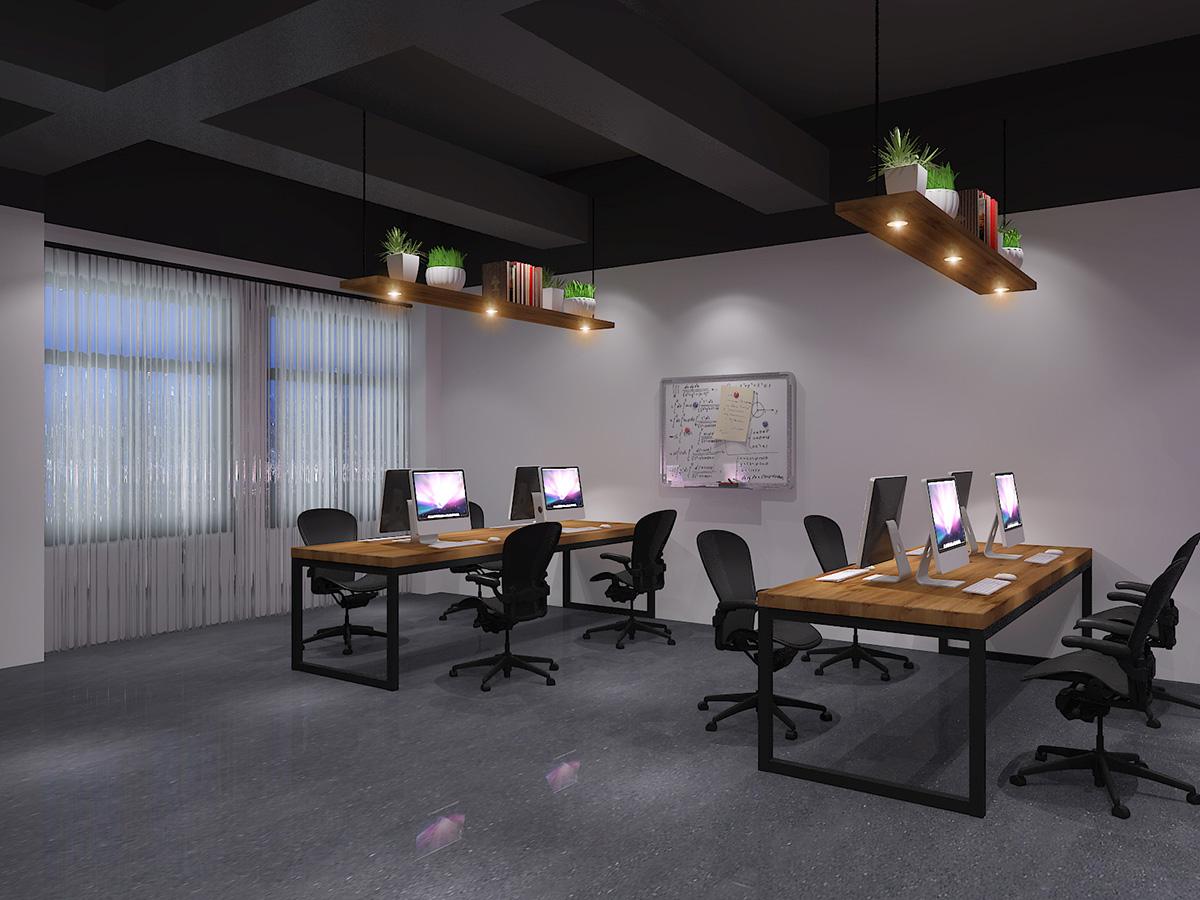 蔓秀缤纷办公空间装修