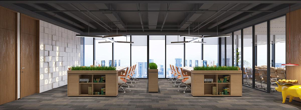 亚细亚食品集团办公空间装修