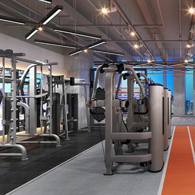宁波某健身房装修